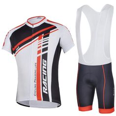 2015 Newest Speed Red Men Cycling Jersey Suits Flexible Durable Bicycle Short Sleeves And Bib Pants Or Pants Online with $43.98on Carcover's Store | DHgate.com