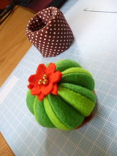 Since I bought the sewing machine. Seem like I got a need for things that never have a meaning for me before; pin cushion, for example. So I...