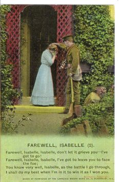 military postcard from world war one. I have a few of these after finding them on e-bay. So sad...
