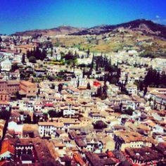 one of my favorite cities in Spain... beautiful granada