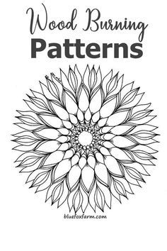 use the mandala coloring pages for the basis for this intriguing craft; Wood Burning Tips, Wood Burning Techniques, Wood Burning Crafts, Wood Burning Patterns, Wood Crafts, Diy Wood, Diy Crafts, Wood Burning Stencils, Stencil Wood