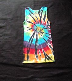 Youth Large Tie Dye Tank Top