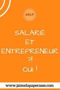 Créer ton entreprise en restant salarié, c'est possible ! Je t'explique les conditions et comment faire pour cumuler les statuts de salarié et d'entrepreneur. #cumul #creation #entreprise #salarie #jaimelapaperasse