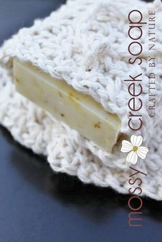 Enjoy this gorgeous handmade soap saver bag made with all natural cotton. Eco-Friendly and saves your handmade soap and help dry out soap in between uses. MEMBER - mossycreeksoaps