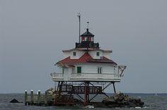 Thomas Point Shoal lighthouse [1875 - Annapolis, Maryland, USA]