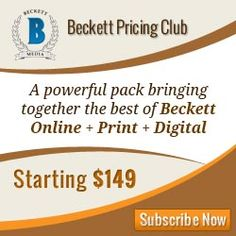 whynotmetigersroar0117: Beckett Media gives you prices online on all sport...
