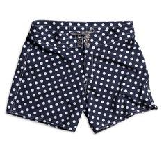 b14c4f54a380d 807 Board Shorts - Navy & White Polka Dot - 28 / Navy & White Polka Dot