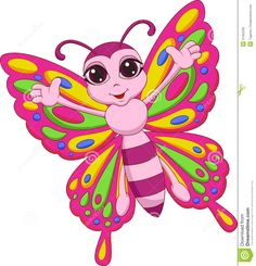 cartoon butterfly images - Google Search