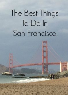 Visiting San Francisco any time soon? Looking for things to do. Here are travelingninetofiver.com favorite places to eat, drink and activities to do.