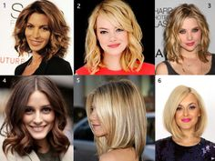 Collection of pretty medium length hair styles