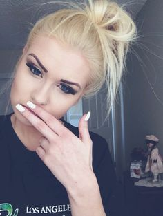 Eye brows and eye lashes,love!