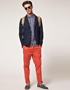 Boom !   ASOS Slim Fit Chino Pants