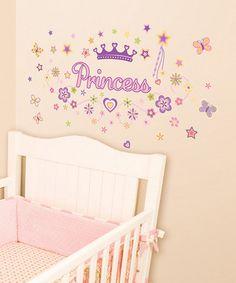 Pretty Princess Decal Set