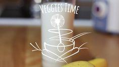 Veganský koktejl z matcha tea