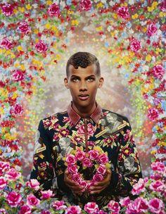 Galerie Daniel Templon - Artist-Pierre et GillesStromae forever (Paul Stromae), 2014 unique hand-painted photograph 162 x 130 cm
