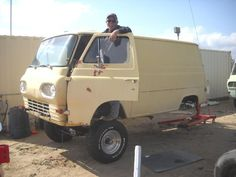 60s econoline | Re: Vanish's No Door Econoline ..... 4x4 Conversion