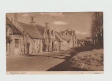 old postcard Sheep Street, BURFORD