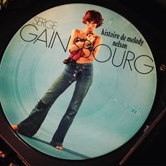 Winning at life! Today I found THIS!! A #sergegainsbourg colour/picture disc vinyl of one of his best albums! #fangirl #musicnerd Can't wait for #recordday  #sundayfunday #sundayvinylparty #allthevinyl #oldschool #analogue #francaise