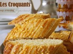 Croquants : gateau algerien Beignets, Samar, Fondant, Algerian Recipes, Algerian Food, Middle Eastern Desserts, Biscotti Cookies, Arabic Food, 20 Min