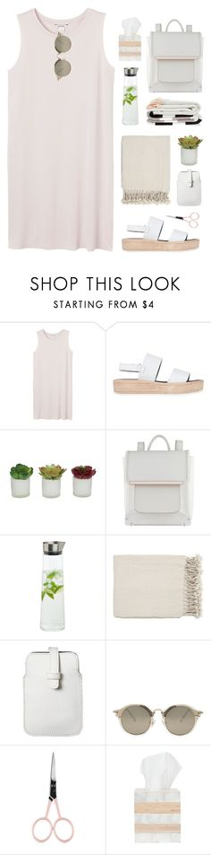 """#1007"" by maartinavg ❤ liked on Polyvore featuring Monki, Tony Bianco, Threshold, ALDO, blomus, Surya, Mossimo, Miu Miu, Anastasia Beverly Hills and Pigeon & Poodle"