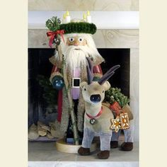 Nutcracker Christmas Time - 100 cm / 39 inches