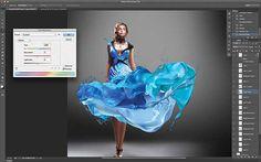 #Photoshop Tutorial: Liquid paint effects