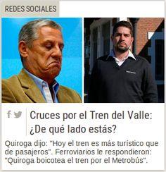 """Piedra OnLine: """"Pechi"""" quiere el Metrobus en sintonía con Maurici..."""
