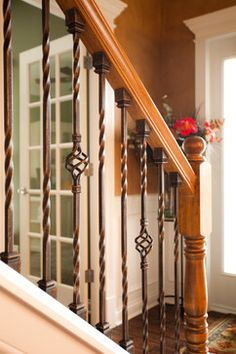 Staircase Spindles Design Ideas, Pictures, Remodel, and Decor - page 6