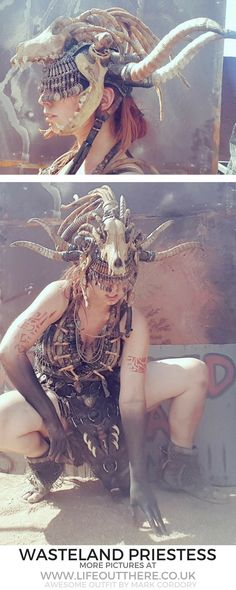 Wasteland Weekend- a Mad Max inspired postapocalyptic festival where we create an apocalypse and run around being badass! I'm wearing an amazing outfit by Mark Cordory. Click for more pictures!  . . . #badasswomen #wasteland #burningman #postapocalyptic
