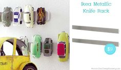magnetic knife rack – perfect for keys, too!