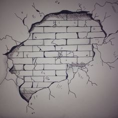 3d brick wall drawing brick wall drawing boos temple in 2018 341