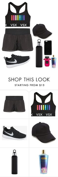 """workout"" by georgiagleeson-14 ❤ liked on Polyvore featuring Y-3 Sport, Victoria's Secret, NIKE, rag & bone, blomus and Maison Margiela"