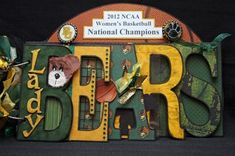 Congratulations #BAYLOR LADY BEARS!  Can't wait to add my pictures and show my pride in the historic 40-0 2012 NCAA Women's Basketball National Champions!!!