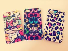 iPhone cases for 4/4s  $7000 c/u www.facebook.com/heystorecl