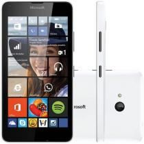 "Smartphone Microsoft Lumia 640 Dual Sim DTV 3G - Dual Chip Windows Phone 8.1 Câm. 8MP Tela 5"""