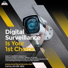 Ip Security Camera, Cctv Security Cameras, Security Cameras For Home, Cctv Camera Installation, Security Service, Home Security Systems, Ip Camera, Home Automation, Remote
