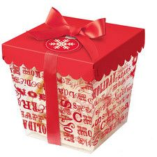Clear Christmas Cookie Container Kit by Wilton 415-0354