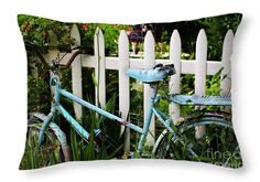 "I Want To Ride My Bicycle Throw Pillow 20"" x 14"""