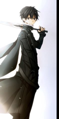 Kirito | Sword Art Online | #SAO | #Anime