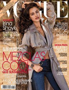 Irina Shayk by Giampaolo Sgura Vogue Espana November 2013