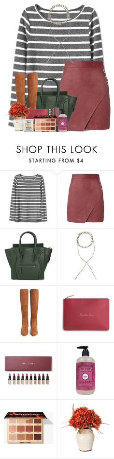 """Coffee"" by livnewell ❤ liked on Polyvore featuring Michelle Mason, CÉLINE, Eye Candy, Sam Edelman and Bobbi Brown Cosmetics"