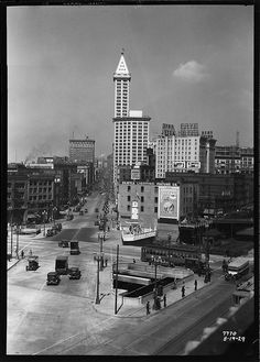 Smith Tower, 1929 by Seattle Municipal Archives, via Flickr