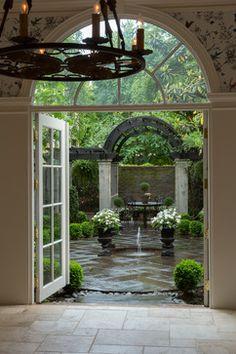 Courtyard…