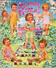 Kathleen Taylor's Dakota Dreams: Thursday Tab- Saalfield Honey Kitten