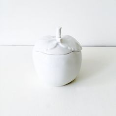 Wit appel potje