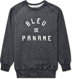 Bleu de Paname - Noir Raglan BD Sweater