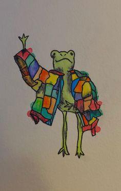 Indie Drawings, Cool Art Drawings, Art Sketches, Frog Sketch, Frog Wallpaper, Frog Drawing, Frog Art, Art Diary, Cute Frogs