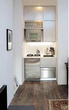 small kitchen is an understatement, think Master Bedroom Retreat - entire floor of home just for the two of you.