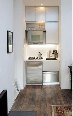 small kitchen is an understatement
