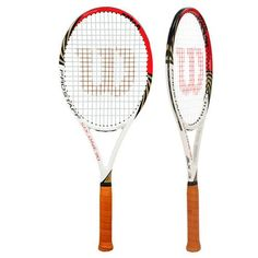 Pro Staff Six.One 90 BLX Tennis Racquet used by the best player in the history Roger Federer. Its weights 12.6 oz strung, 27 inches long and great control racquet.